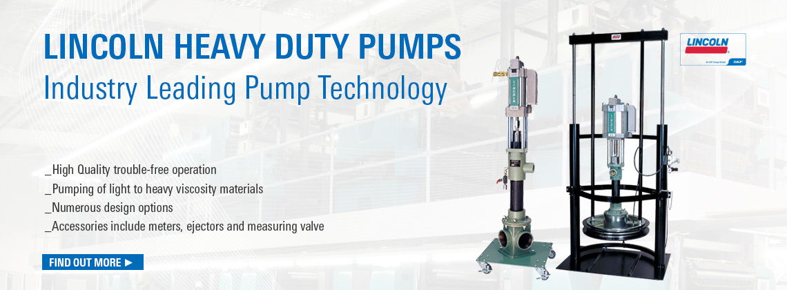 lincoln Heavy Duty Pumps