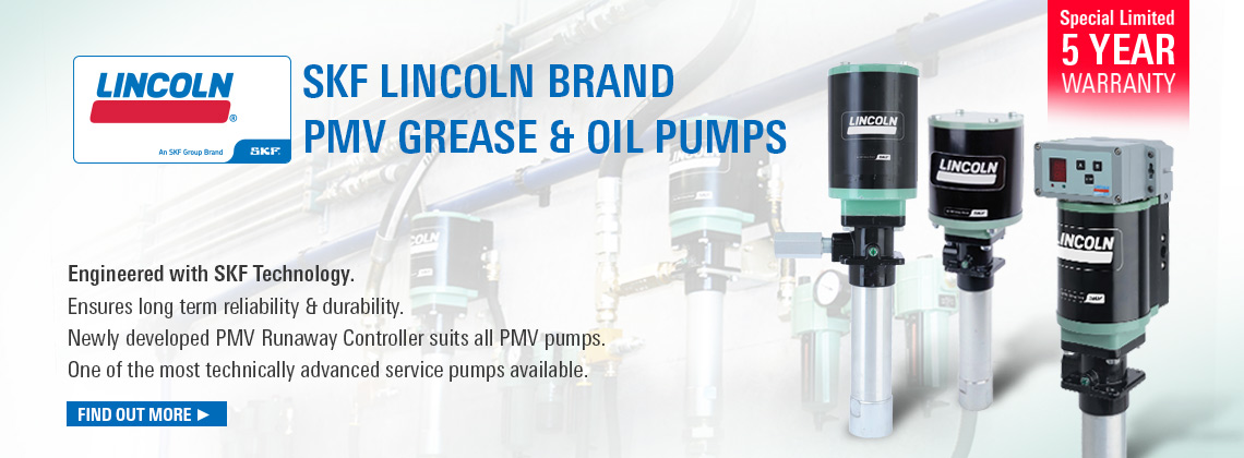 The New SKF Lincoln Brand PMV Pumps